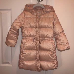 GAP toddler girl down parka/puffer jacket